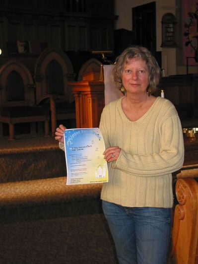 Winter Folk Fest organizer Linda Omichinski invites everyone to this year's event on Sun., Feb. 8 in Trinity United Church, 15 Tupper St. South in Portage la Prairie.