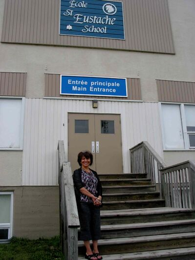 École St. Eustache principal Fay Pahl (pictured here in a file photo) is one of the school officials who will be in attendance at the Prairie Rose School Division public consultation which will be held at École St. Eustache on Dec. 3 at 7 p.m.