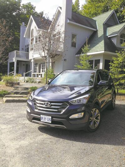 The 2013 Hyundai Santa Fe is one of seven Hyundai vehicles affected by the understated fuel-consumption figures.