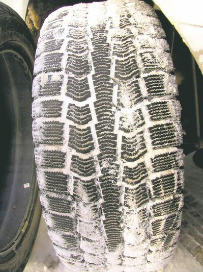 The aggressiveness of the tread pattern can provide some insight into how the tires will perform in deeper snow and slush.