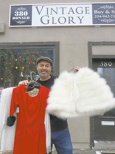 Doug Shand shows off some of Vintage Glory's glam.
