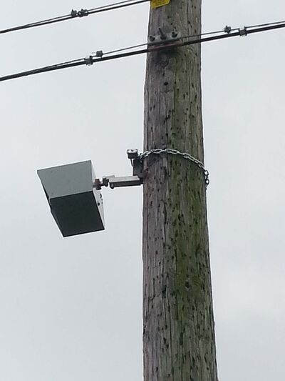 SUPPLIED PHOTO</p><p>To guard against illegal garbage dumping, two cameras similar to this one have been placed at dumping hot spots in city back lanes.</p>