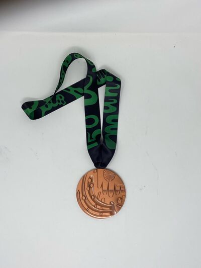 All winners will receive this medal, designed by Manitoba's Takashi Iwasaki.