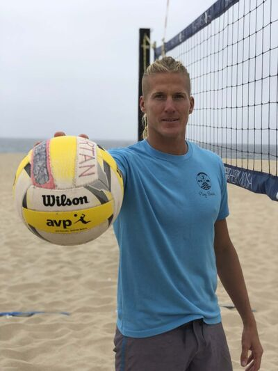 Taylor Allen / Winnipeg Free Press</p><p>Mark Burik, CEO and head coach of Volleycamp Hermosa in Hermosa Beach, Calif.</p>