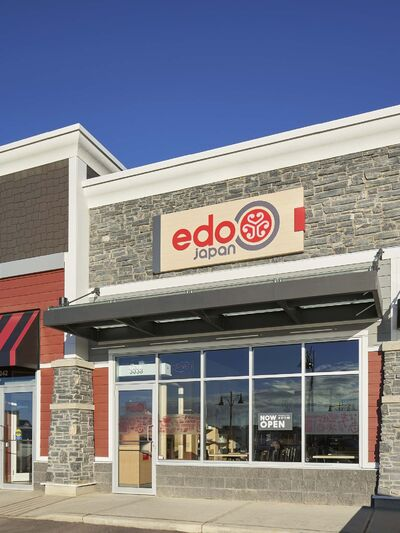 <p>Edo Japan restaurant in Edmonton.</p>