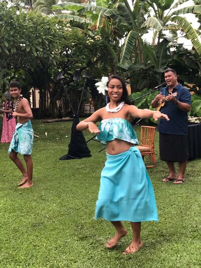 Hula dancers perform nightly at Ka'anapali Beach Hotel, which has a complimentary cultural activities program for guests to gain a better understanding of Hawaii.</p>