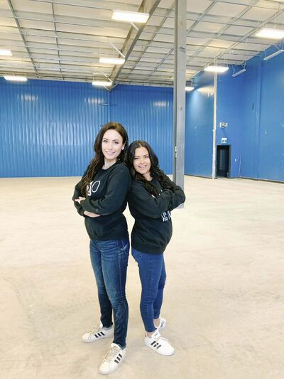 SUPPLIED</p><p>H2O Academy co-founders Kaley Maksymyk (left) and Krista Morden plan to open a new swimming pool at McCreary Business Park.</p>