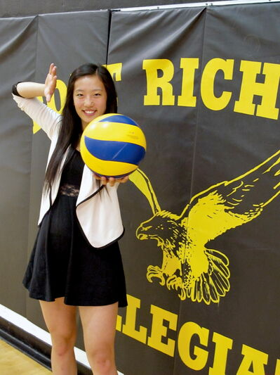 Christina Meng Yao Huang's dream is coming true. This fall, the volleyball athlete will be heading to Queen's University, with a volleyball scholarship in hand, to enrol in the Queen's University Accelerated Route to Medical School program.