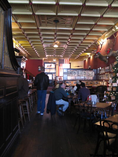 With the photos of the old West on the walls, the Palace saloon is the oldest frontier bar in Arizona.