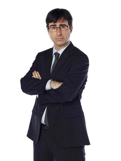 "John Oliver, a correspondent from ""The Daily Show with Jon Stewart."" Oliver has landed a show of his own on HBO."