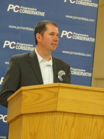 Shannon Martin of La Salle accepted the Progressive Conservative's nomination on May 13 as the party's candidate in the upcoming Morris byelection.