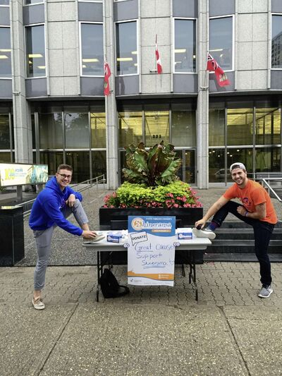 Led by students in I.H Asper School of Business and the Commerce Students' Association, students shined shoes at the Fort Garry campus and throughout Winnipeg on Sept. 16 as part of Shinerama.