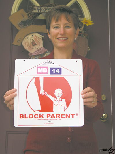 Linda Lambert is hoping more of her neighbours will become Block Parents