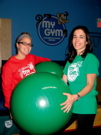Jaime Greene and Tamara Simon are excited to finally open My Gym.
