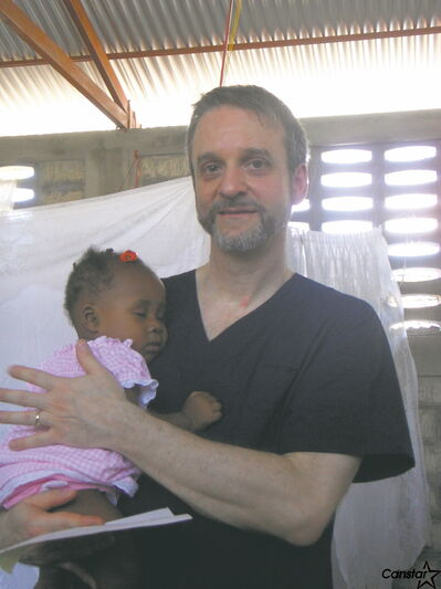Dr. Pierre Plourde has been leading a medical team to Haiti annually since 2004.