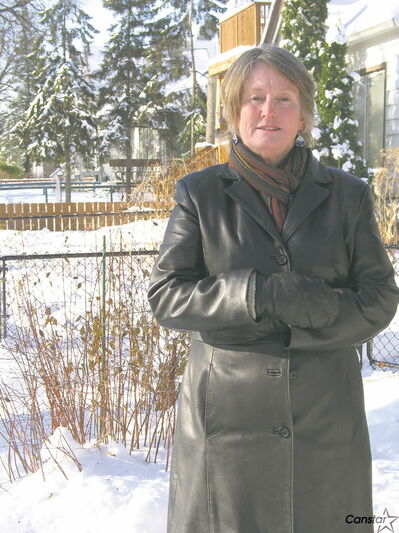 Cheryl Hobbs is concerned with the development of her neighbourhood.