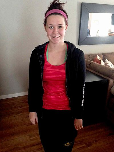 Ashley Hyra is recovering from a serious spinal injury and plans to run and walk in this year's Manitoba Marathon.