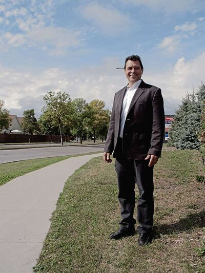 Wally Welechenko is running to represent Transcona on city council in the Oct. 24 civic election. (SHELDON BIRNIE/CANSTAR/THE HERALD)