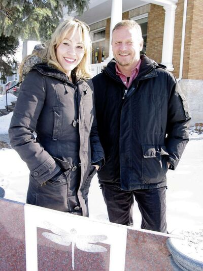 In this March 2015 file photo, Dawn Isaac (left) and Dave Berry, are pictured at the Aulneau Renewal Centre in St. Boniface. Isaac is the centre's director of development and Berry is the centre's assistant executive director.