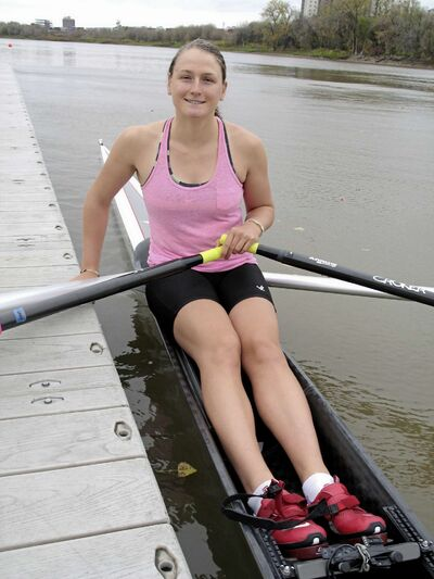 Emma Gray recently won two gold medals at the Rowing Canada Aviron (RAC) National Rowing Championships recently.