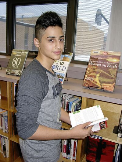 Bilal Ayyache is the only student in Manitoba to be named of one 31 Loran Scholars this year.