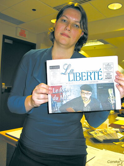 Lysiane Romain is currently the acting editor-in-chief of La Liberté.