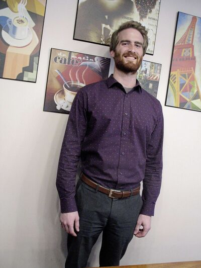 Adam McAllister is the People's Party of Canada candidate running in Saint Boniface-Saint Vital. (SIMON FULLER/CANSTAR NEWS/THE LANCE)