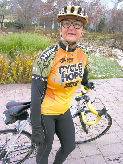 Olenka Antymniuk is relishing the challenge of another Cycle of Hope.