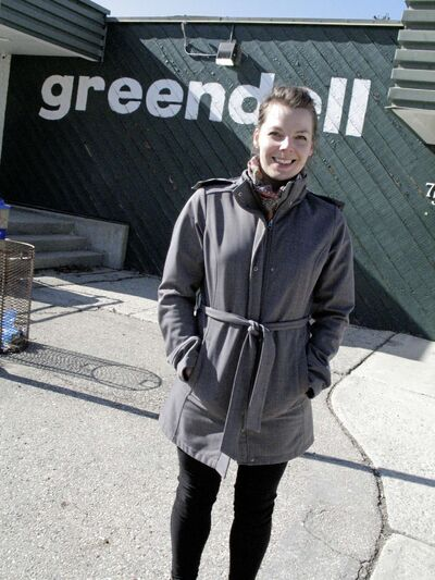 Sharon Loewen, pictured at Greendell Park Community Centre, is the organizer of the Postpartum Association of Manitoba's upcoming Baby and Kids Used Toy and Clothing Sale on April 14. (SIMON FULLER/CANSTAR NEWS/THE LANCE)