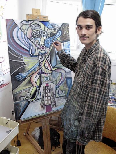 Kieran Valde will hold his first solo art exhibition titled Reflection Refraction at The Edge Gallery (611 Main St.) between May 18 and 22. There will be an opening reception on May 18 from 7 to 10 p.m., and the exhibition will run during gallery hours. (SIMON FULLER/CANSTAR NEWS/THE LANCE)