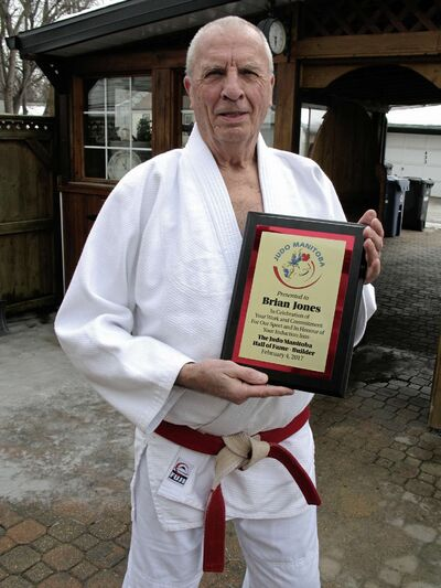 Brian Jones has facilitated volunteer judo workshops at different schools more than 300 times over the years.