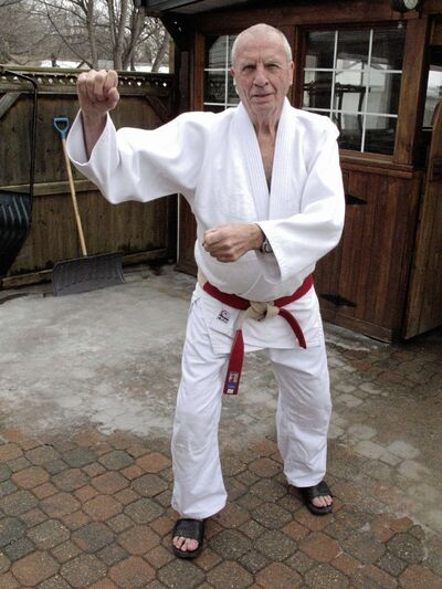 St. Vital resident Brian Jones was recently inducted into the Judo Manitoba Hall of Fame in the builder category.