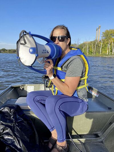 As provincial head rowing coach, Janine Stephens currently works with 12 high-performance athletes aged between 16 and 25.