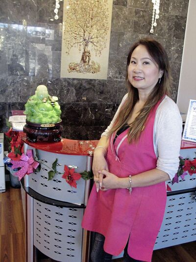 Feng Zhao is the owner of Vogue Spa & Nails, which will celebrate its four-year anniversary on Dec. 1.