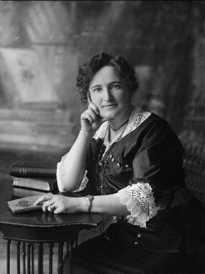 C. JESSOP / NATIONAL ARCHIVES OF CANADA</p><p>Manitoba feminist icon Nellie McClung was a member of the Famous Five who fought for women's rights. She's among the suggested nominees on a website about which notable Canadian woman should be on a new banknote.</p>