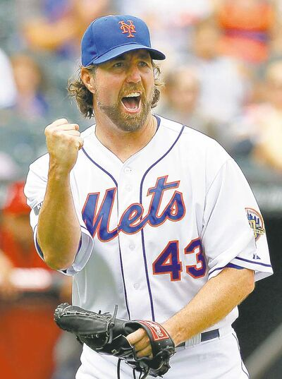 the associated press archivesNew York Mets� R.A. Dickey (left) and Tampa Bay southpaw David Price enjoyed outstanding seasons.