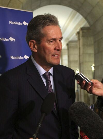 WAYNE GLOWACKI / WINNIPEG FREE PRESS FILES</p><p>Premier Brian Pallister&rsquo;s government moved to control public-sector wages last fall.</p>