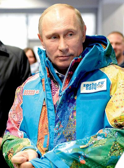 "The Associated Press The ""new Russia"" President Vladimir Putin unveiled in Sochi doesn't look likely to last."