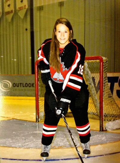 Alexandra Anderson of the Winnipeg Avros will play with the University of Manitoba Bisons women's team next season.