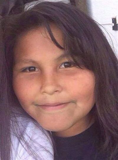 Teresa Robinson is shown in a photo from the Garden Hill First Nation Facebook page. The 11-year-old girl was last seen walking home from a birthday party. Now, after nine months without an arrest, RCMP have taken an unusual step to find her killer, asking all males ages 15 to 66 in the remote, fly-in community to volunteer samples of their DNA. THE CANADIAN PRESS/HO-Facebook-Garden Hill First Nation