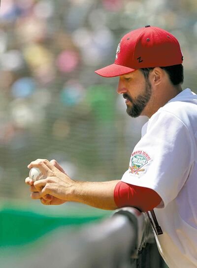 Coming from a baseball family, Goldeyes pitcher Nick Hernandez learns about the game just from being around family members. His dad was drafted by the Milwaukee Brewers and his uncle is an MLB umpire.