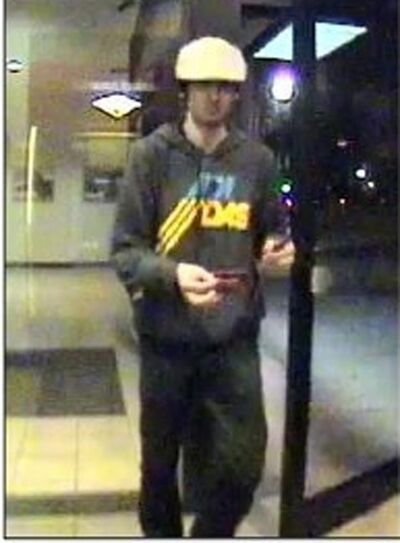 This image taken from surveillance video provided by the Boston Regional Intelligence Center shows Boston Marathon bombing suspect Dzhokhar Tsarnaev at a Bank of America ATM in Watertown, Mass. at 11:18 p.m. on April 18, 2013. The next day, police intercepted Dzhokhar and his 26-year-old brother Tamerlan in a blazing gunbattle that the elder brother dead. Dzhokhar, 19, is charged with carrying out the Boston Marathon bombing April 15 that killed three people and wounded more than 260, and he could get the death penalty. (AP Photo/Boston Regional Intelligence Center)