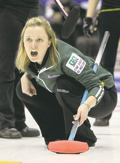 Mike Deal / Winnipeg Free Press ARCHIVESChelsea Carey and her team have the Sochi Olympic Trials at the top of their resolutions list for 2013.