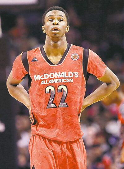 Nam Y. Huh / the associated press archivesThe scintillating Andrew Wiggins shuns his rock star status.
