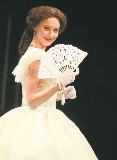 Bethany Jillard as Scarlett O'Hara in RMTC's Gone With the Wind.