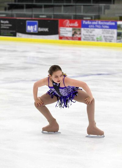 Andrea Laskovic, 12, will be competing in her first Manitoba Winter Games. Her program will reference classic comedian Charlie Chaplin.