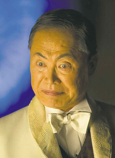 Jan Thijs / ShowcaseGeorge Takei guest stars as an outrageously evil character on supernatural serial Lost Girl.