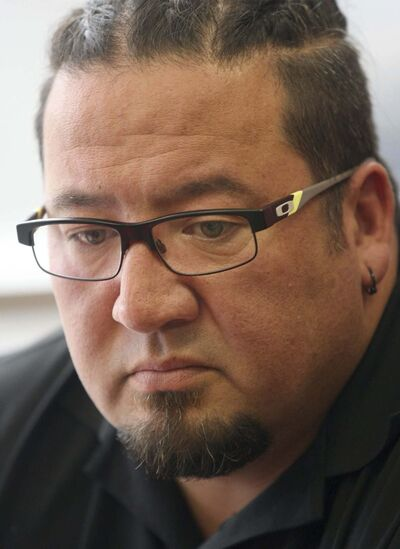 JOE BRYKSA / WINNIPEG FREE PRESS</p><p>Grand Chief Derek Nepinak</p>