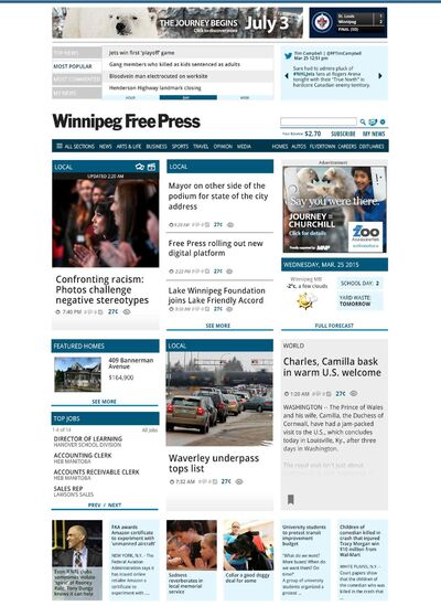A look at the new Winnipeg Free Press digital platform