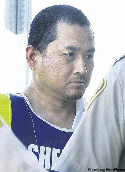 Vince Li, seen at a court date in August 2008.